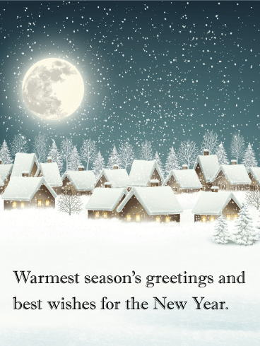 Quiet winter night seasons greetings card silent night holy quiet winter night seasons greetings card silent night holy night all is calm all is bright looking for a tender and sincere holiday greeting card m4hsunfo