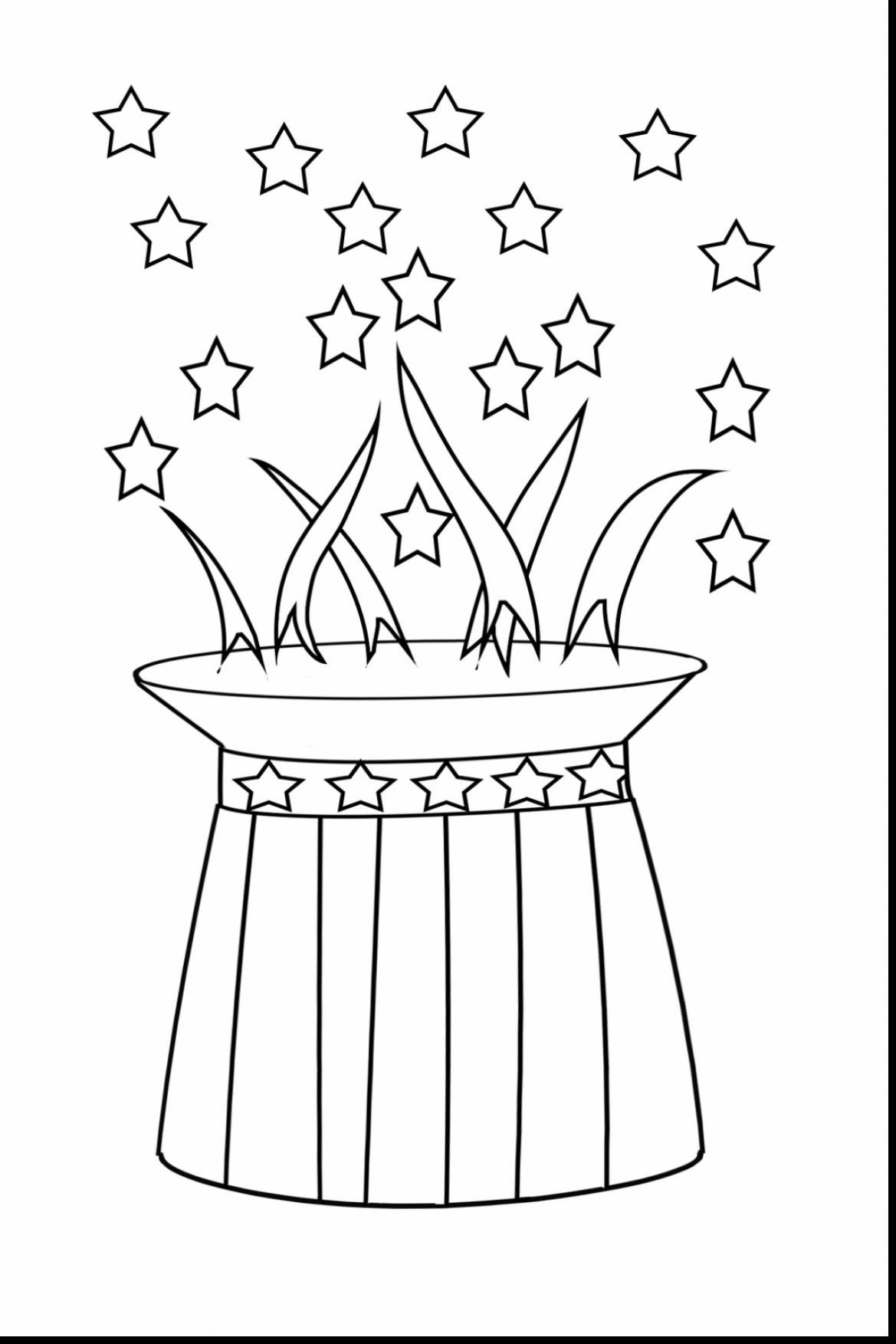 1169x1753 Fourth Of July Fireworks Coloring Pages Free