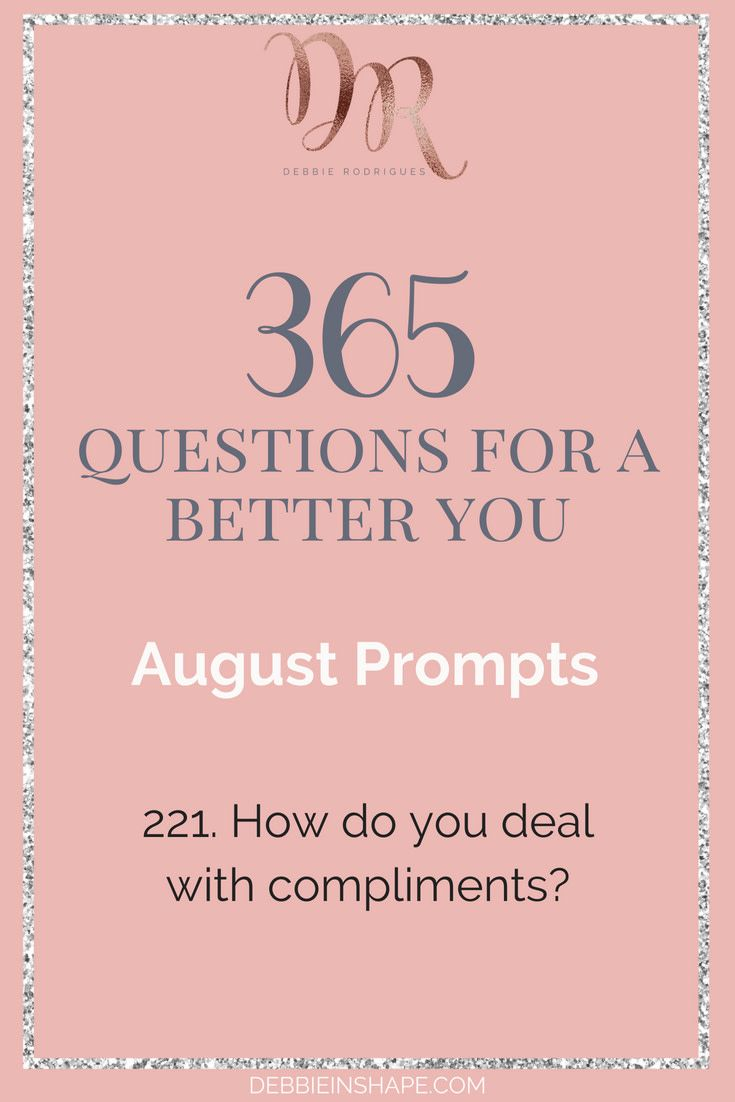 how do you deal with compliments find out how you can join