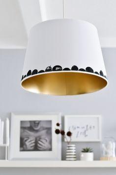 IKEA Hack | Lampenschirm, Rustikale lampenschirme, Ikea diy