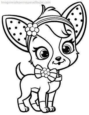 Bonitos dibujos para imprimir de perros y gatos para pintar ...