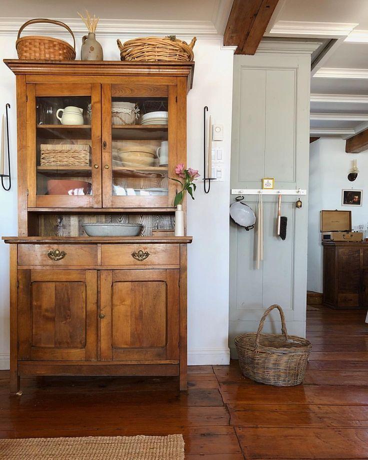Ich liebe es, wie die Hinzufügung eines Möbelstücks die gesamte ...  #eines #gesamte #hinzufugung #liebe #mobelstucks #antiquefarmhouse