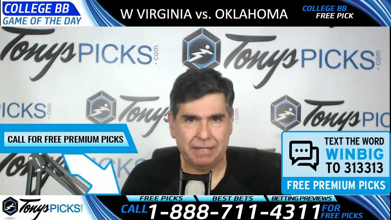 West Virginia vs. Oklahoma Free NCAA Basketball Picks and