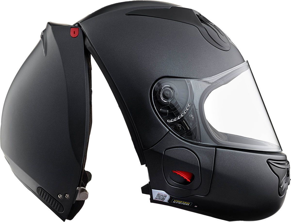 vozz rs 1 0 le casque int gral ouverture arri re casques deux roues bikes helmets. Black Bedroom Furniture Sets. Home Design Ideas