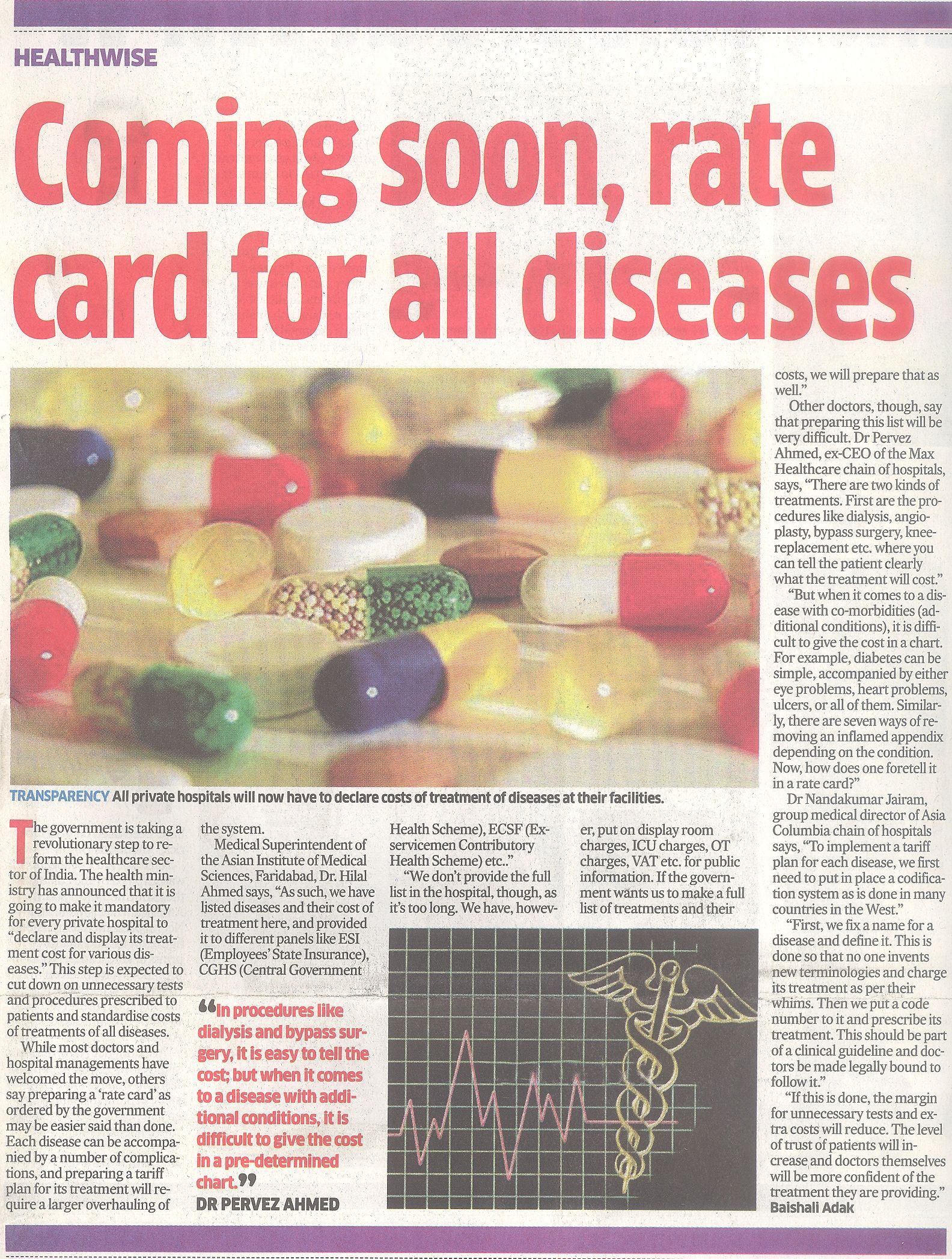 Urgent Care Rate Card For All Diseases About To Launch