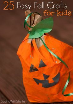 Fall is a great time to craft with kids! With just a few basic craft supplies you can make pumpkins, leaf garlands, corn wreaths, turkeys and more!