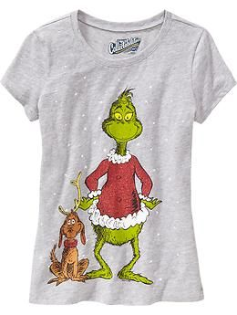 Girls Dr. Seuss  The Grinch™ Tees  abeb9070424d5