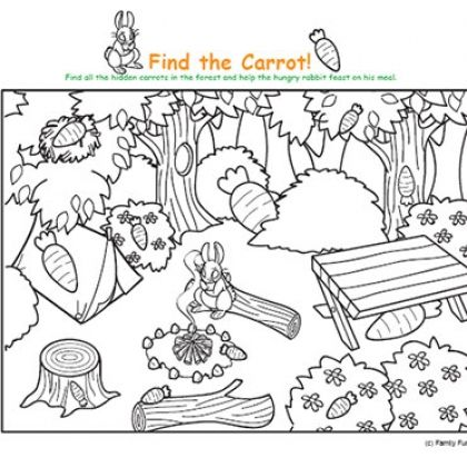 Spoonful is an AWESOME place to download and print kids activity - new hidden alphabet coloring pages
