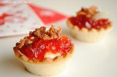 Cocinando con Neus: Tartaletas de pimientos caramelizados