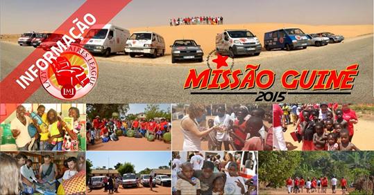[Novo Artigo] 2ª Missão Humanitária Guiné Bissau – Ajuda-nos a Ajudar!  50 carros e 120 pessoas na maior caravana humanitária que Portugal empreendeu. TU PODES ajudar hoje mesmo!  Sabe como Aqui: http://paulagarcia.biz/r/BLOG-MissaoGuine2015