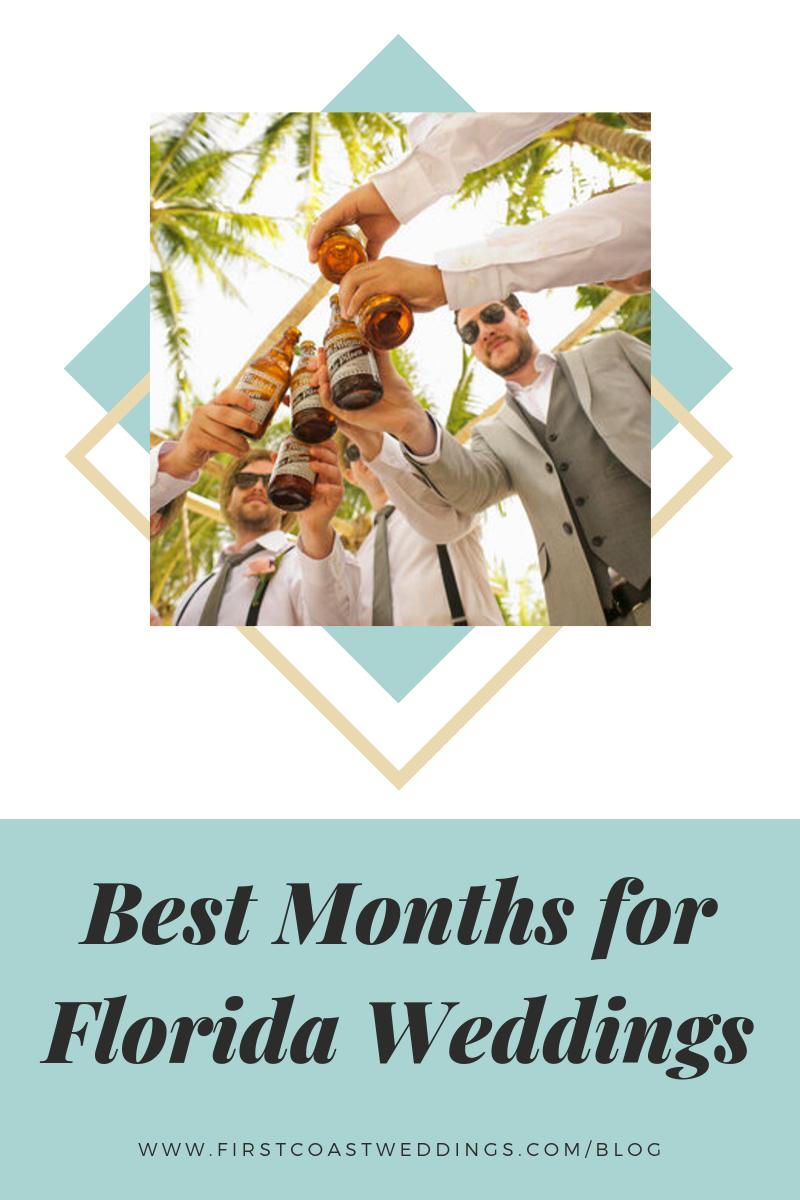 Popular Months For Florida Weddings Florida Wedding Coast Wedding Getting Married