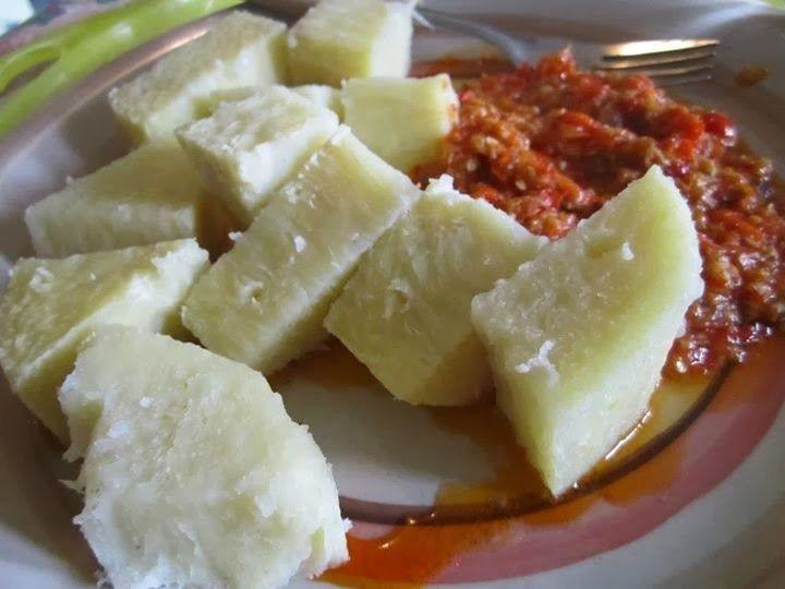 Gastronomie Recette Ivoirienne L Akpessi D Igname Avec Images Recettes De Cuisine Africaine Recettes De Cuisine Gastronomie