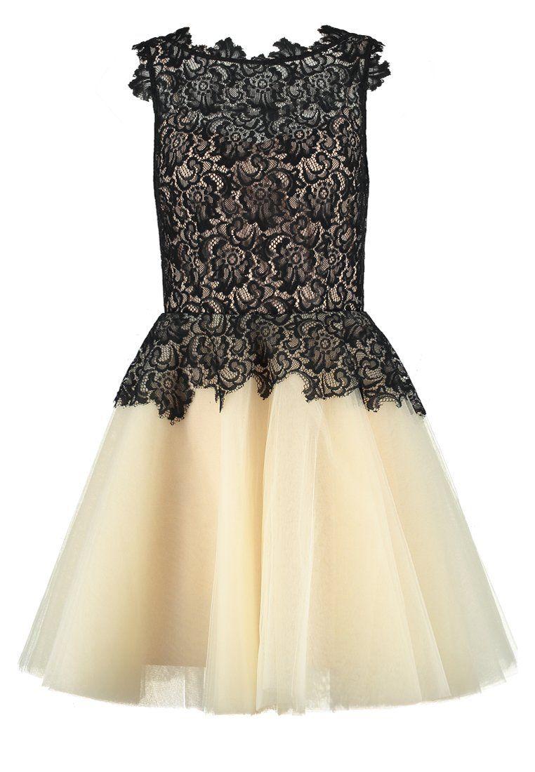 Derhy ARGONNE - Cocktail dress / Party dress - noir/nude   •clothes ...