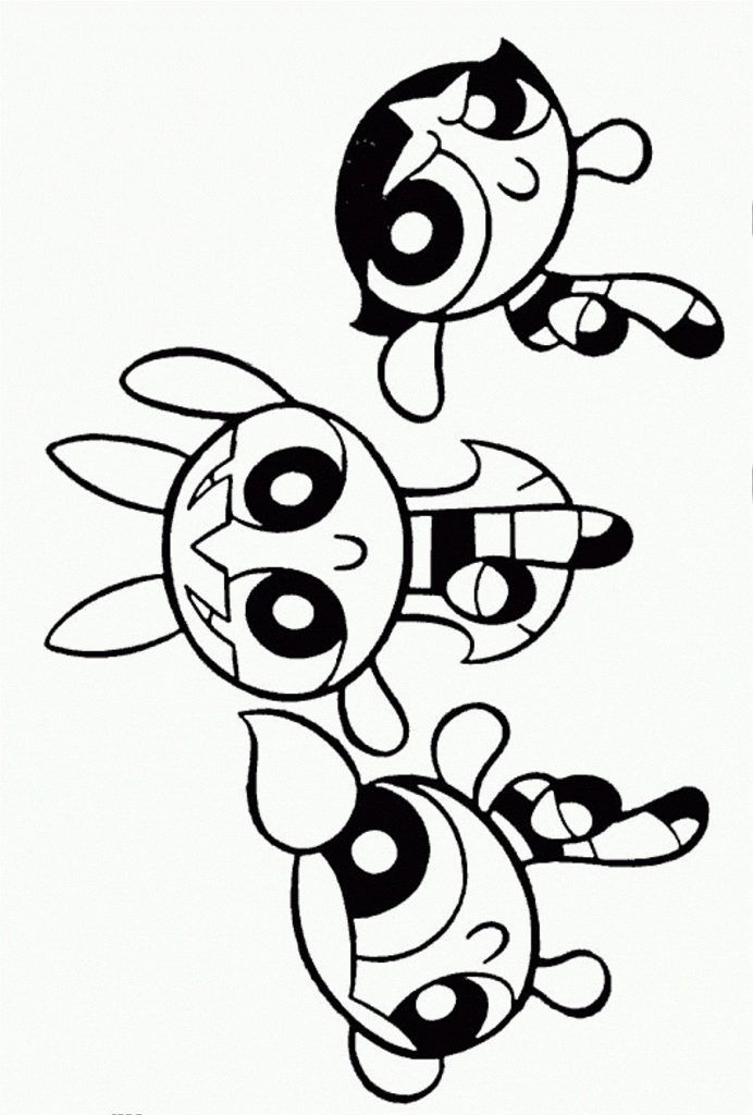 Free Printable Powerpuff Girls Coloring Pages For Kids Con