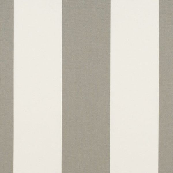 Sunbrella Awning Stripe 4876 0000 Manhattan Fog 46 Fabric