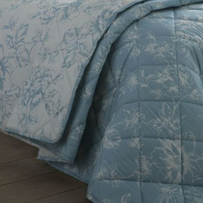 Chepstow Quilted Bedspread - Duck Egg Blue