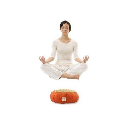 Amazon.com : Relaxso Zafu Statics Meditation Cushion, Toile Mocha : Yoga Blocks : Sports & Outdoors