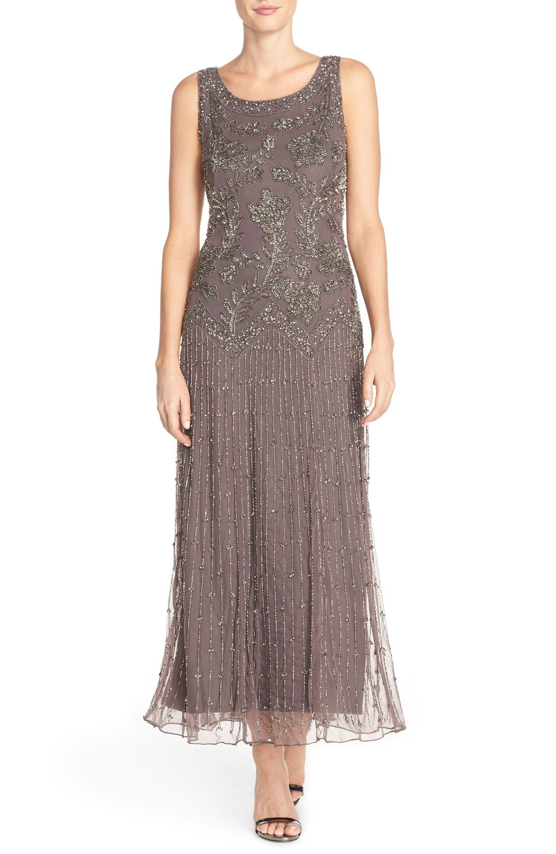 Pisarro Nights Embellished Mesh Gown Nordstrom, $189 | Clothing ...