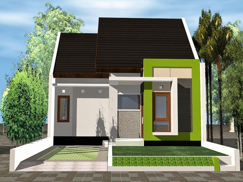 60 Gambar Tampak Depan Rumah Minimalis 1 Lantai   Sebuah rumah