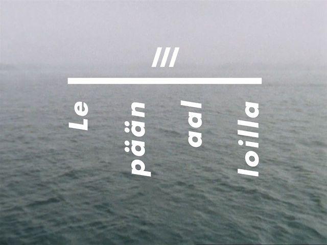 Regina - Lepään aalloilla (Soita mulle III) – my favorite finnish band. Short film by Osma Harvilahti