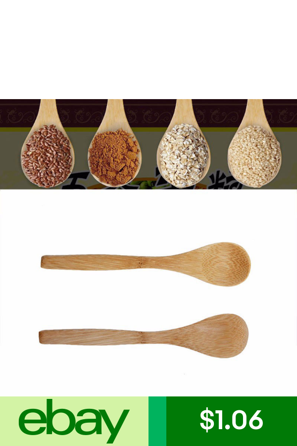 6Pcs Set Bamboo Utensil Kitchen Wooden Cooking Tool Spoon Spatula Mixing Tools#^