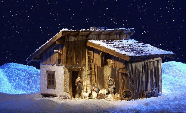 Krippe Bauen Weihnachten Pinterest Xmas Crafts Nativity And