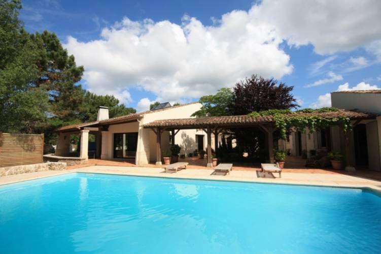 A vendre villa d 39 exception bord de mer et golf la palmyre - Villa charente maritime avec piscine ...
