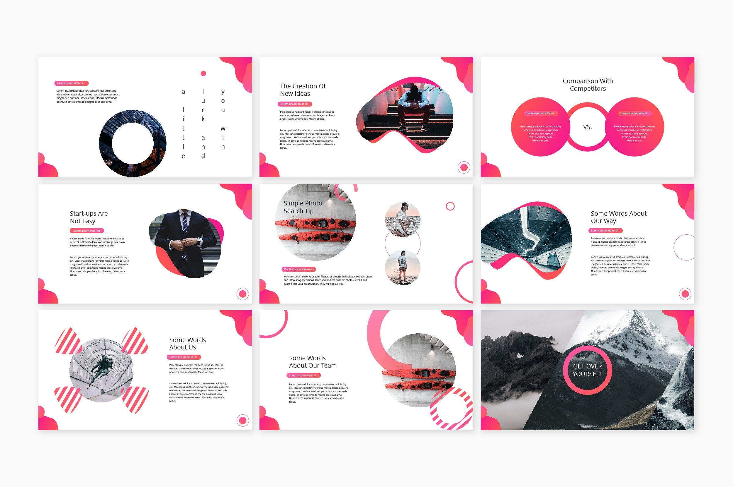 Pitch PowerPoint Template Powerpoint templates
