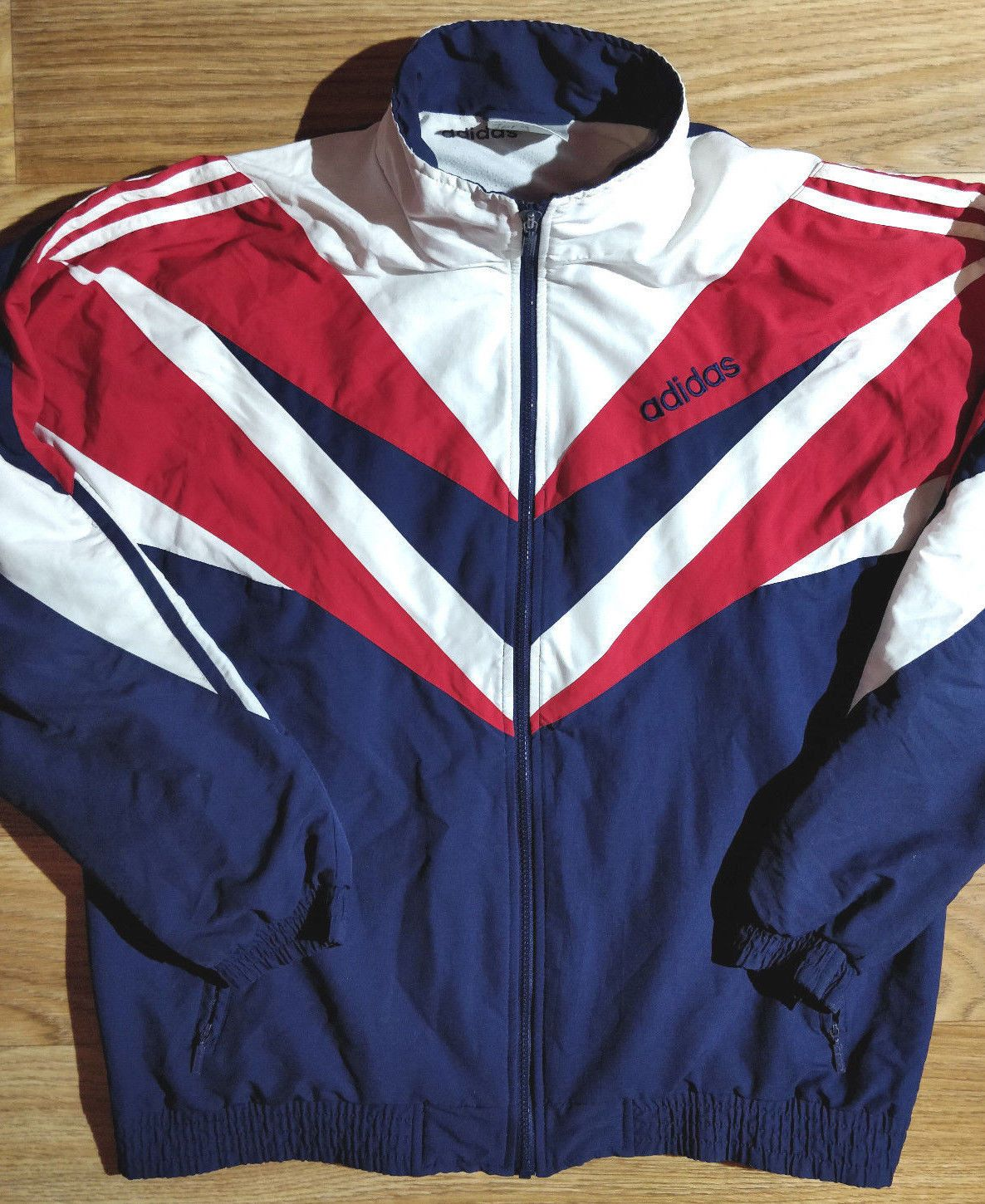 Adidas Originals 90 s Vintage Mens Tracksuit Top Jacket in 2019 ... e64244cd97