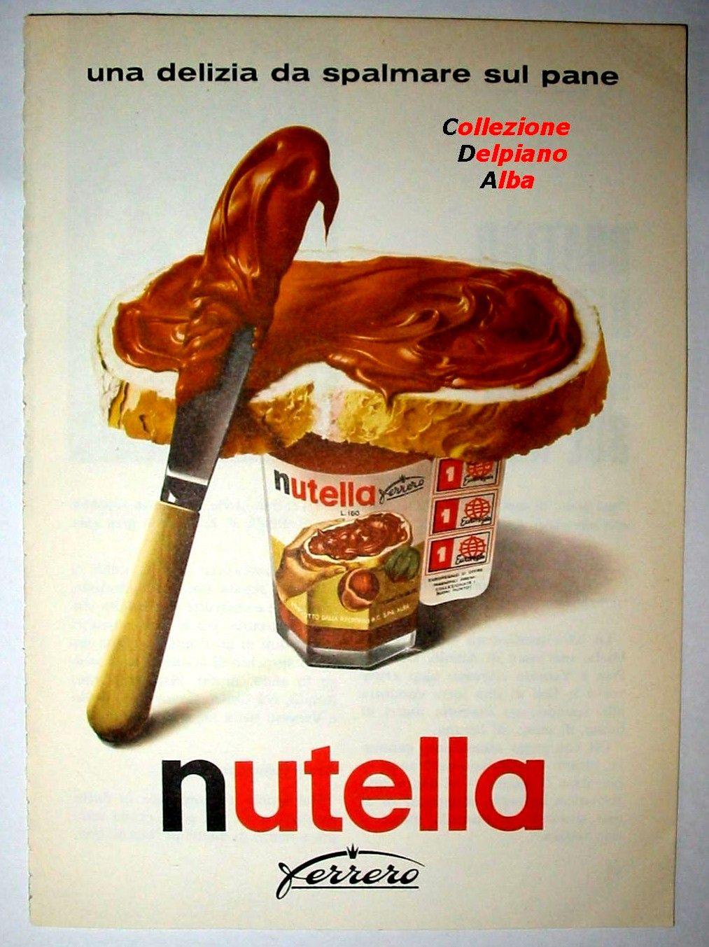 affiche publicitaire nutella