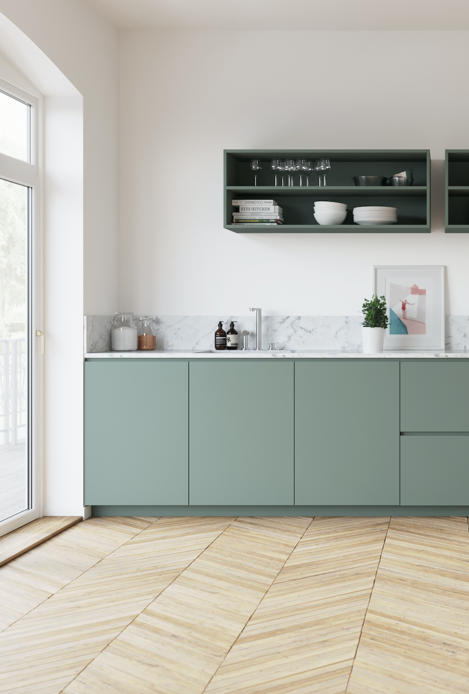 Pflaumenkuche Vert De Gris Kuche Chez Jules Antoine Antoine Jules Kuc Antoine Chez Gris Jules K In 2020 Kitchen Inspirations Kitchen Design Home Decor