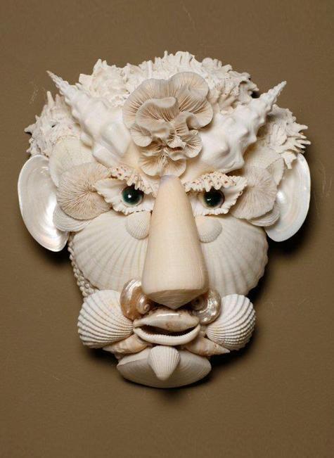 Designer decorateur, creeation en coquillage, objets de decoration, Thomas Boog…
