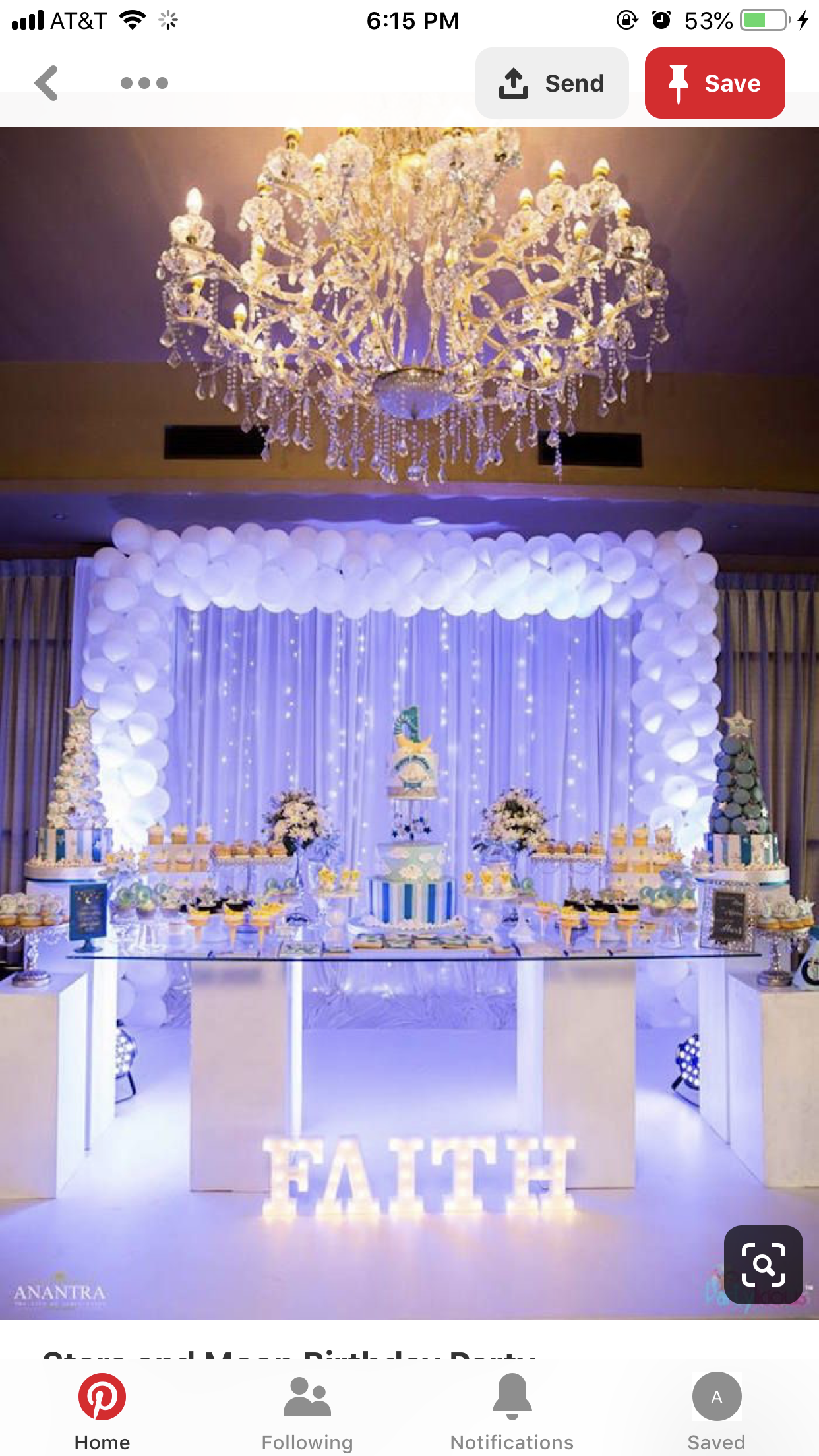 Pin by Anahiciriaco on 15 Sweet 16 party decorations