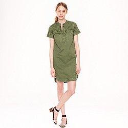 Military shirtdress love this . . .