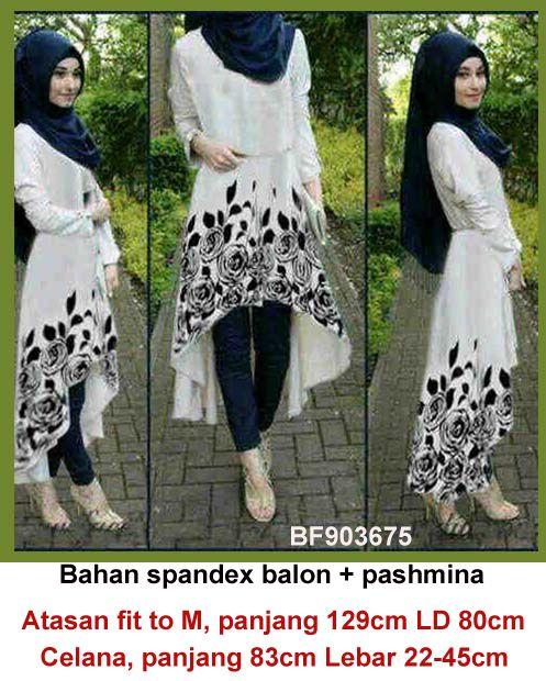 Baju Gamis Modern Terbaru Detail Produk Model Baju Muslim Atasan
