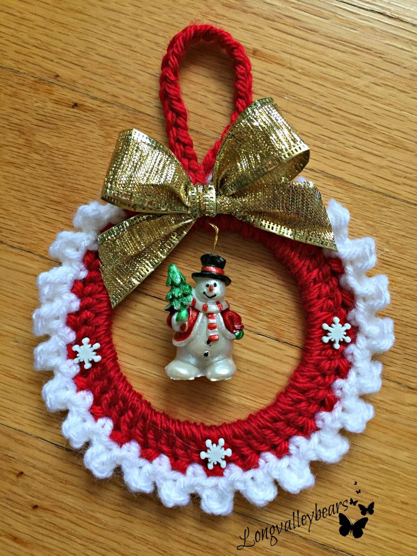 Crochet Christmas Ornaments.Pin On Crochet Holidays