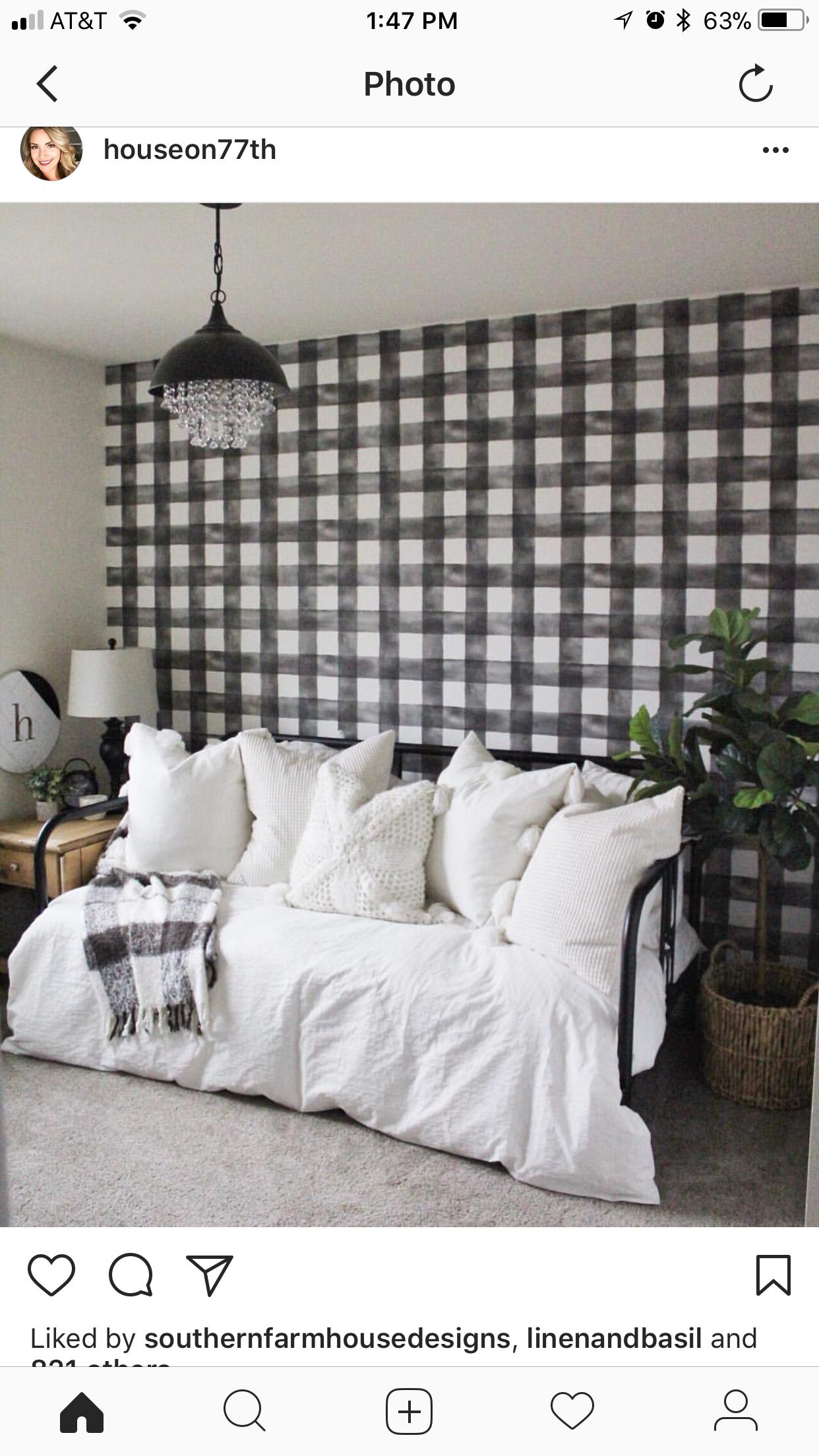 Wallpaper Magnolia homes, Home, Black and white wallpaper