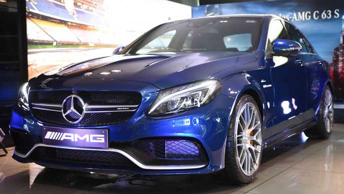 Mercedes Amg C63 S Launched For Rs 1 30 Crore Mercedes Mercedes