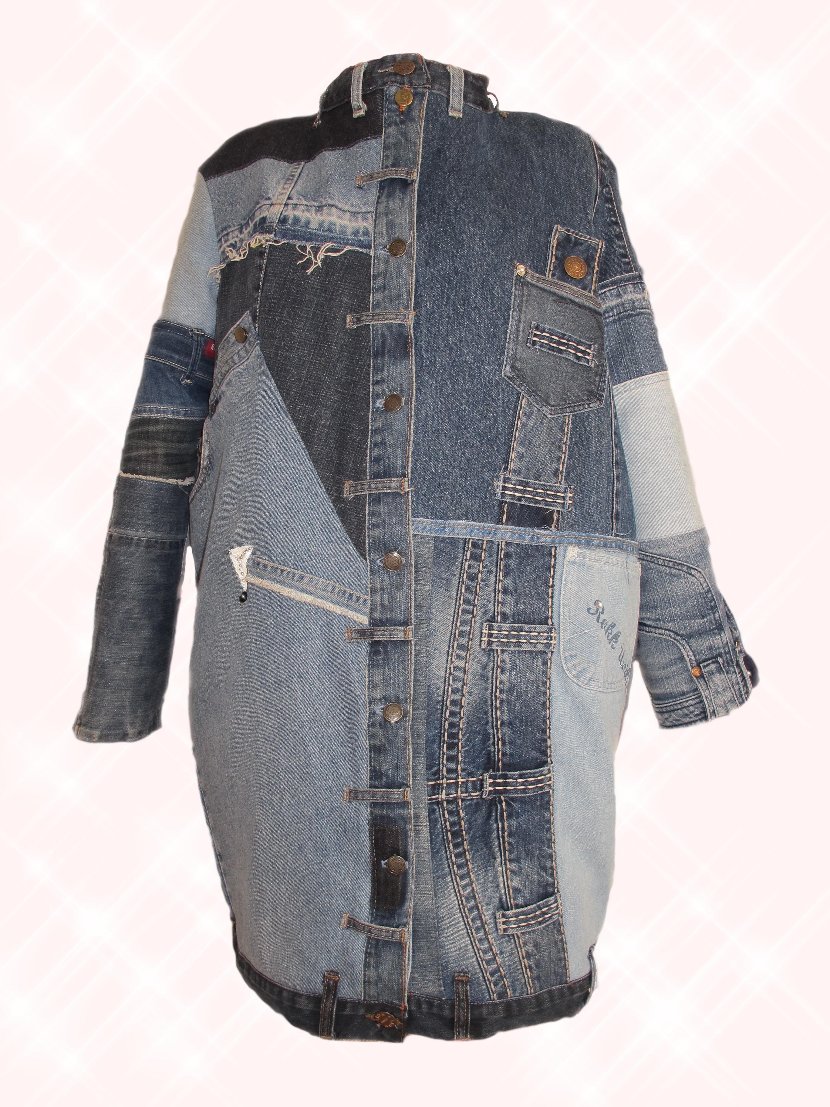 6ce226d9ee90ff Jacket Upcycling  Patchwork Jeansjacke  Jeans Kostüm  Jeansweste  Jeans   Denim  Style  Fashion  Stil  Mode  Damen  Frauen  Lady  Unikat  Upcycling  ...