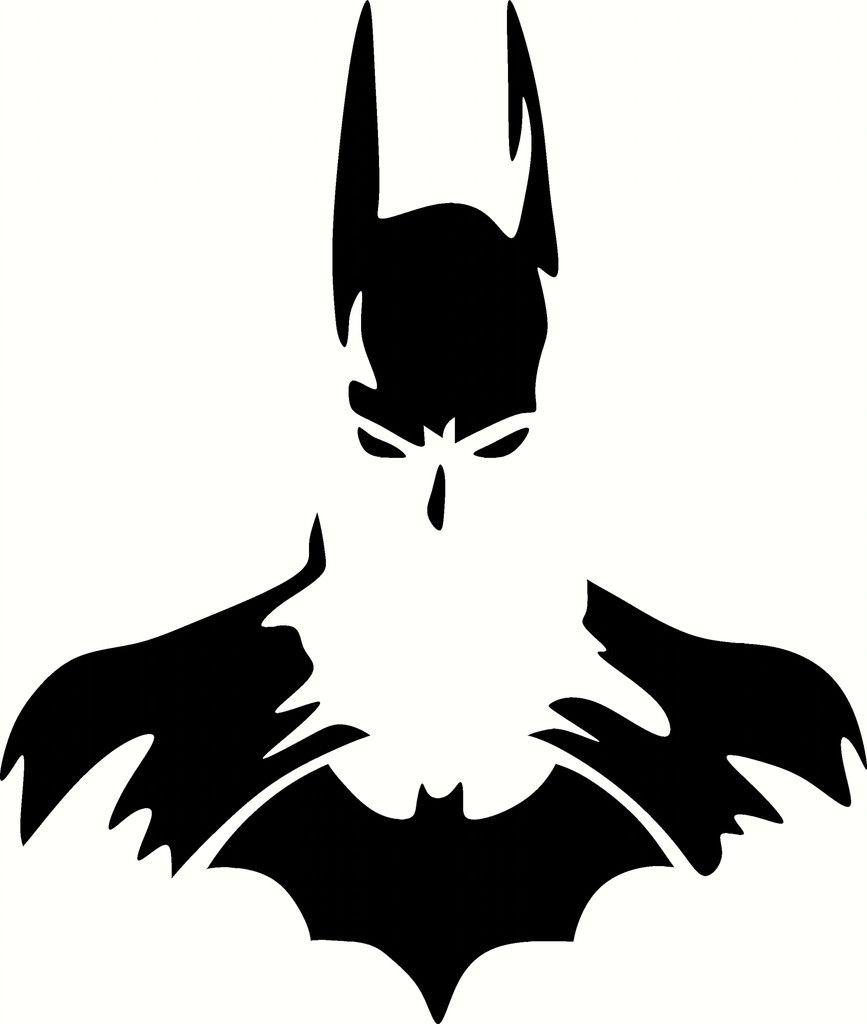 Batman Silhouette Pesquisa Google Silhouettes Pinterest - Batman vinyl decal stickers