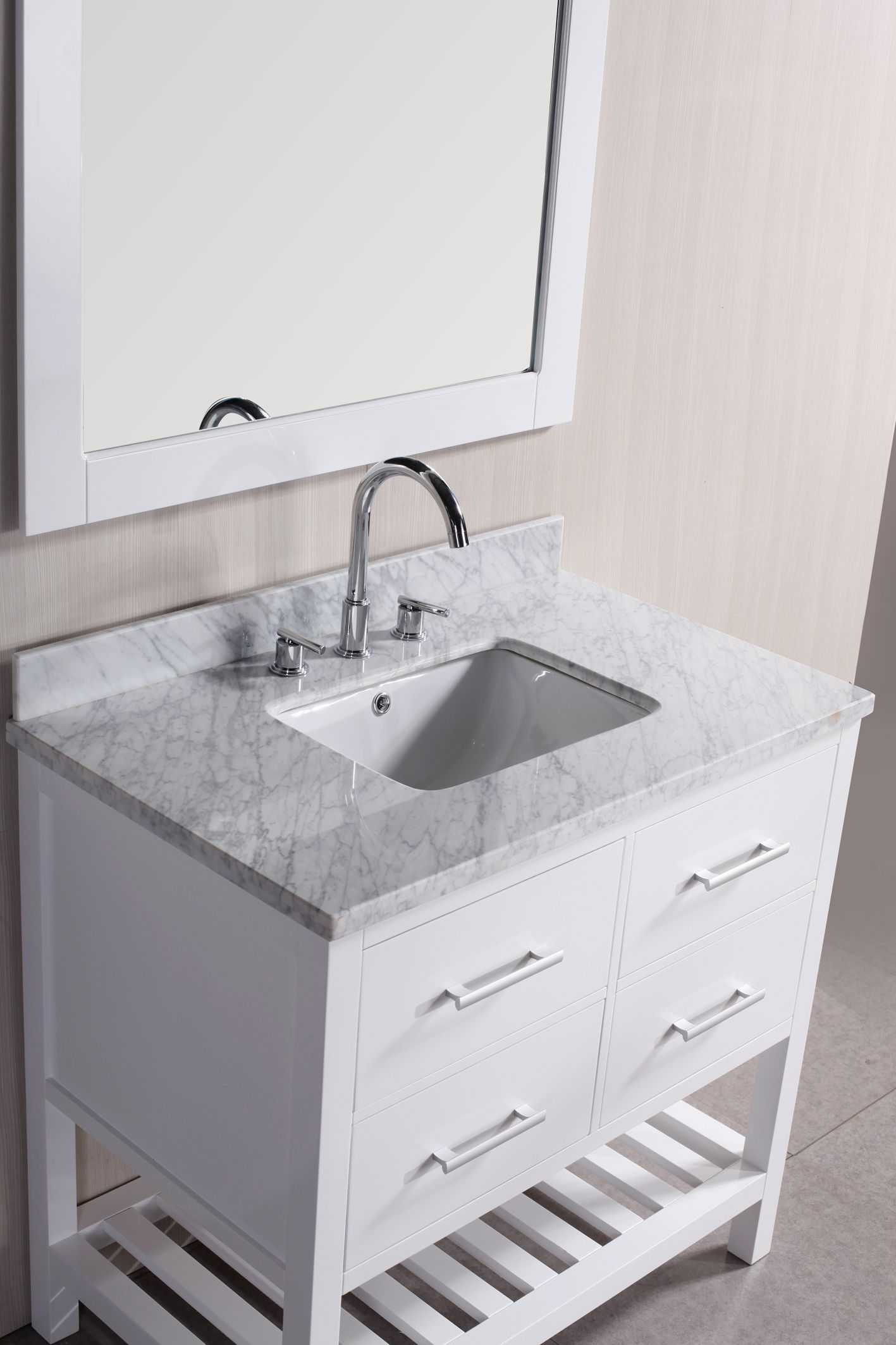 small bathroom vanities without tops | Bad | Pinterest | Small ...