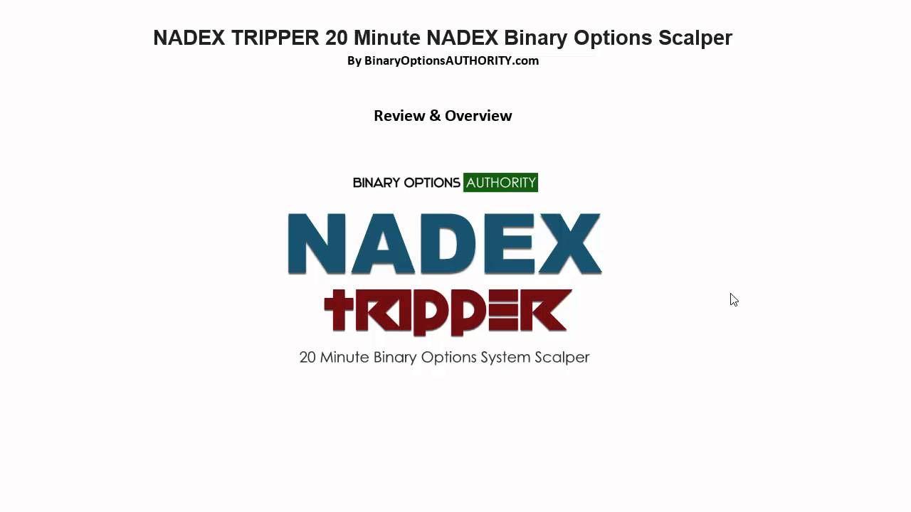 NADEX TRIPPER 20 Minute NADEX Binary Options Scalper Review
