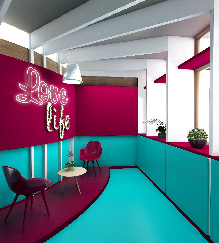 3d Concepto De Dise O Interior Elaborado Por Andres Baquero  # Muebles Pedro Baquero