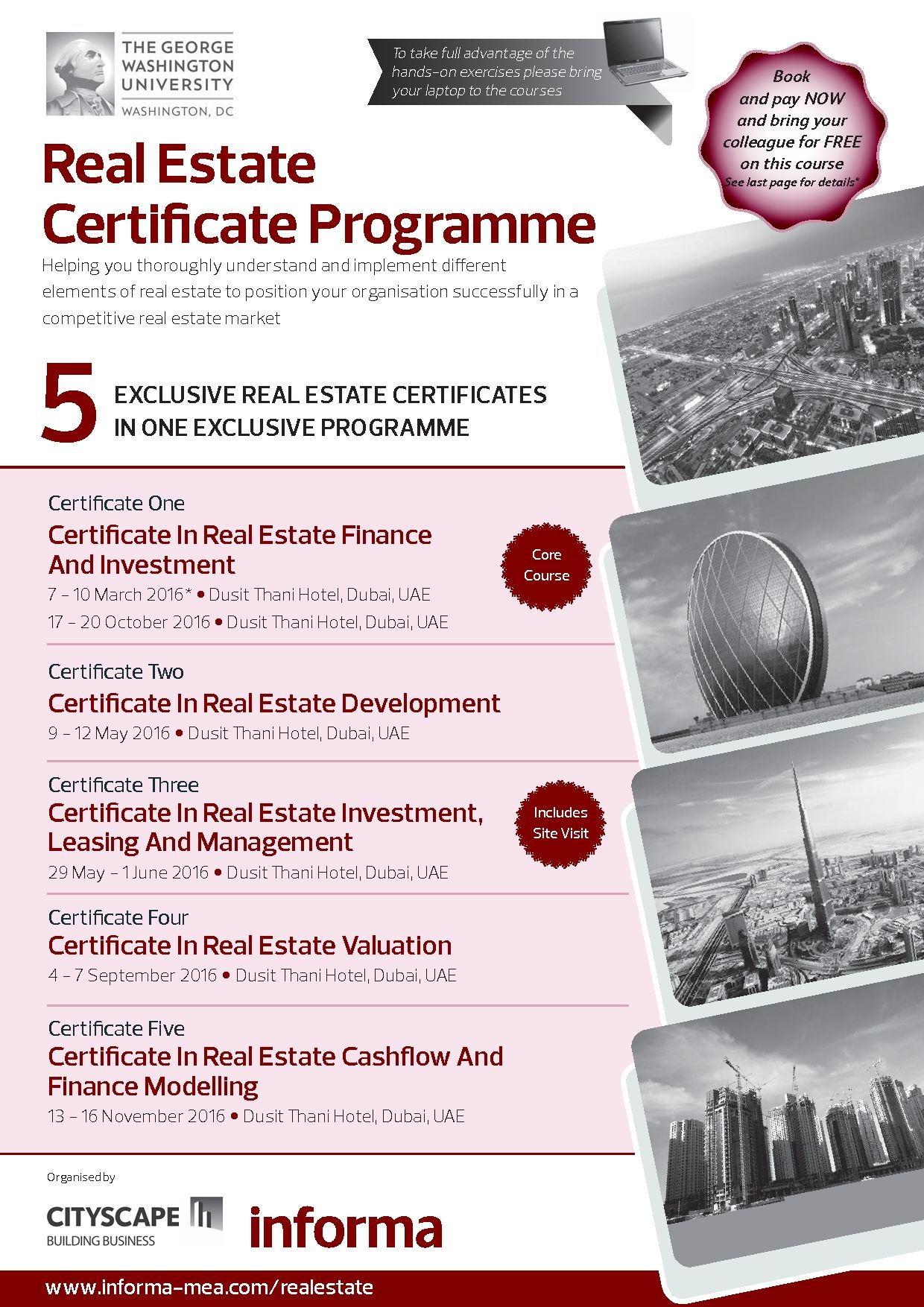 Informa Me Real Estate  Construction Training Certificate In