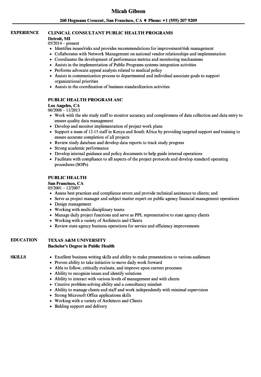Social Worker Resume Summary Beautiful Public Health Resume Samples Resume Examples Good Resume Examples Resume Template Examples