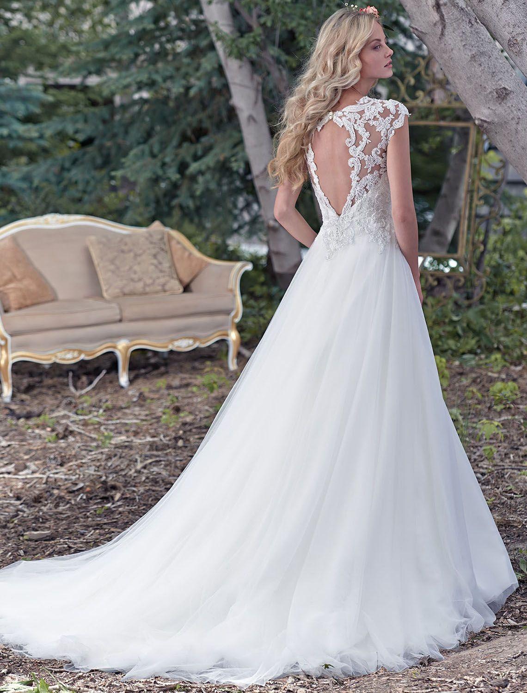 Bridesire - Duchesse-Linie Herz-Ausschnitt ärmellos Brautkleid ...
