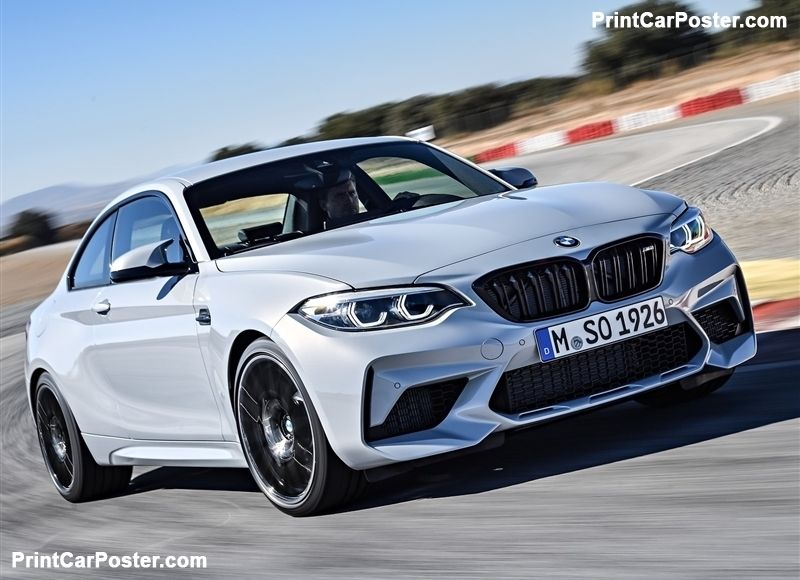 Bmw M2 Competition 2019 Poster Bmw M2 Best Luxury Cars Bmw