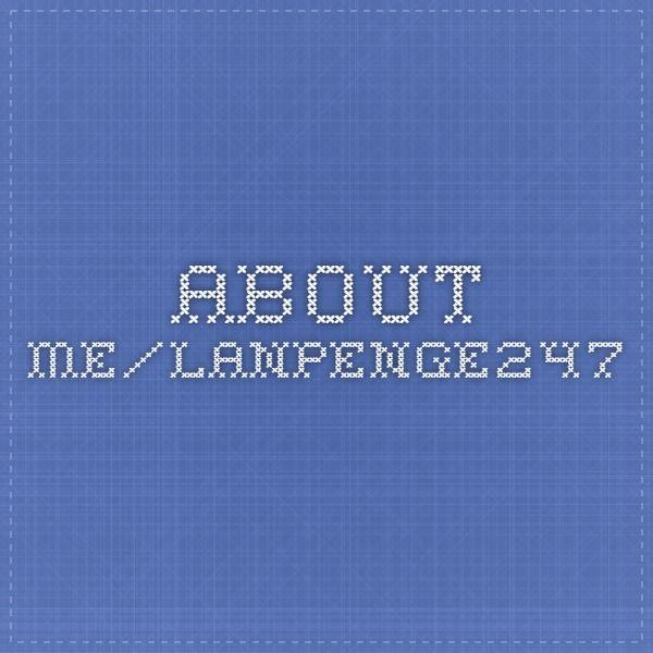 About.me/LanPenge247
