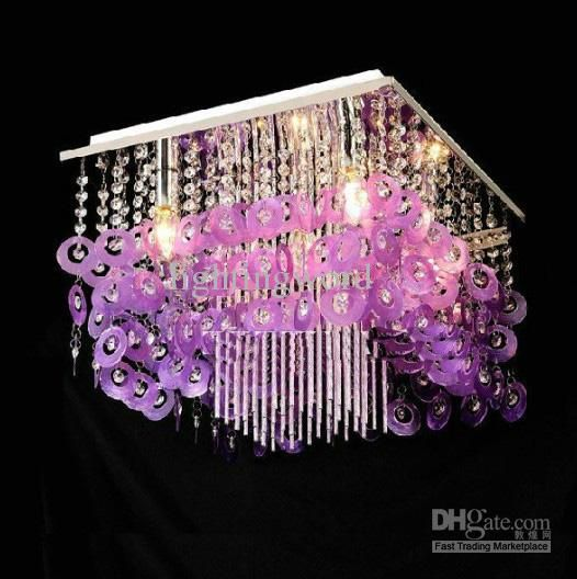 Modern fashion high quality purple natural shell ceiling light wholesale cheap 5050 led online brand find best modern fashion high quality purple natural shell ceiling light chandelier living room lamp at discount mozeypictures Images