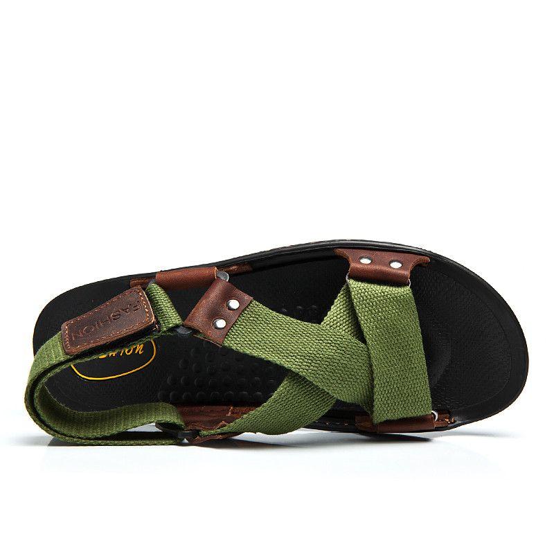 1382f33f814949 ZNPNXN Summer Sandals Men Designers Sandalias Hombre Beach Shoes Men S  Sandals…